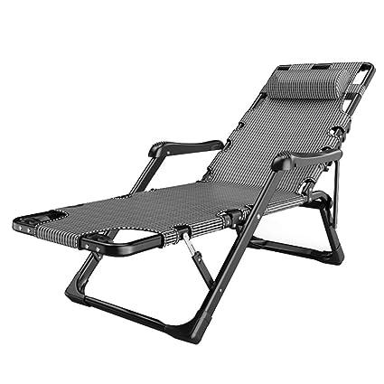 Marvelous Amazon Com Reclining Sun Lounger Chair Heavy Duty Machost Co Dining Chair Design Ideas Machostcouk