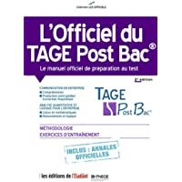 l'Officiel du Tage Post Bac - Le manuel officiel de préparation au test 2e édition