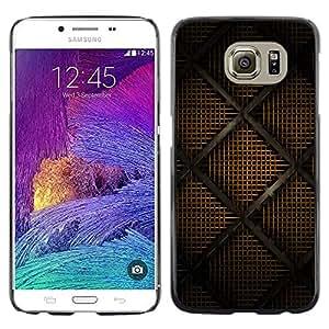 TECHCASE**Cubierta de la caja de protección la piel dura para el ** Samsung Galaxy S6 SM-G920 ** Modern Art Drawing Design Interrior Wallpaper