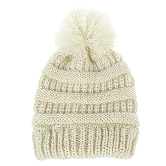 Gorras para bebé, Dragon868 Sombrero de lana de punto invierno ...