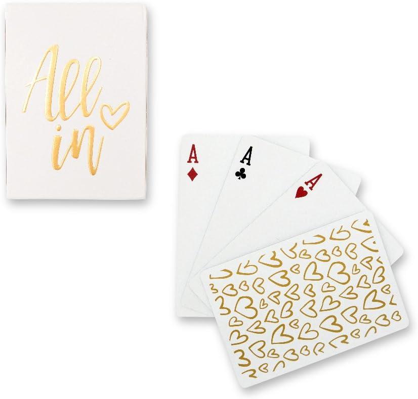 jeu de cartes dans le thème d'amour