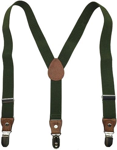 Adjustable Braces for Boys Girls Kids Childrens 1-6 yrs Plain School Colours UK