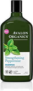 product image for Avalon Organics Shampoo, Strengthening Peppermint, 11 Oz