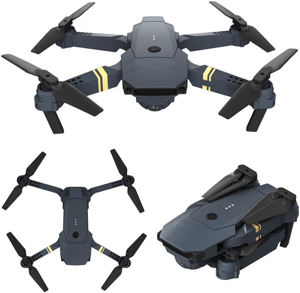 GUIGSI Drone con cámara HD Plegable Drone con WiFi móvil Control Gran Angular Selfie: Amazon.es: Hogar