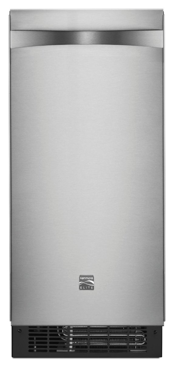 Kenmore 89593 15' Ice Maker with Drain Pump, Stainless Steel Sears Home Services - water filters