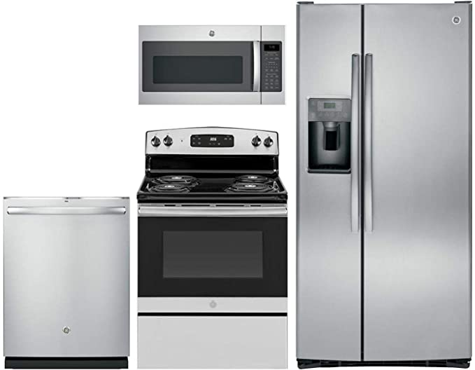 Amazon.com: GE 4 Pcs Kitchen Package with GSS23GSKSS 33\