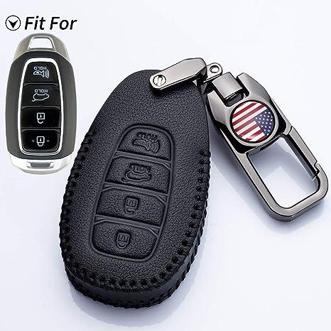Amazon.com: Goshion - Funda para llave de coche para Hyundai ...