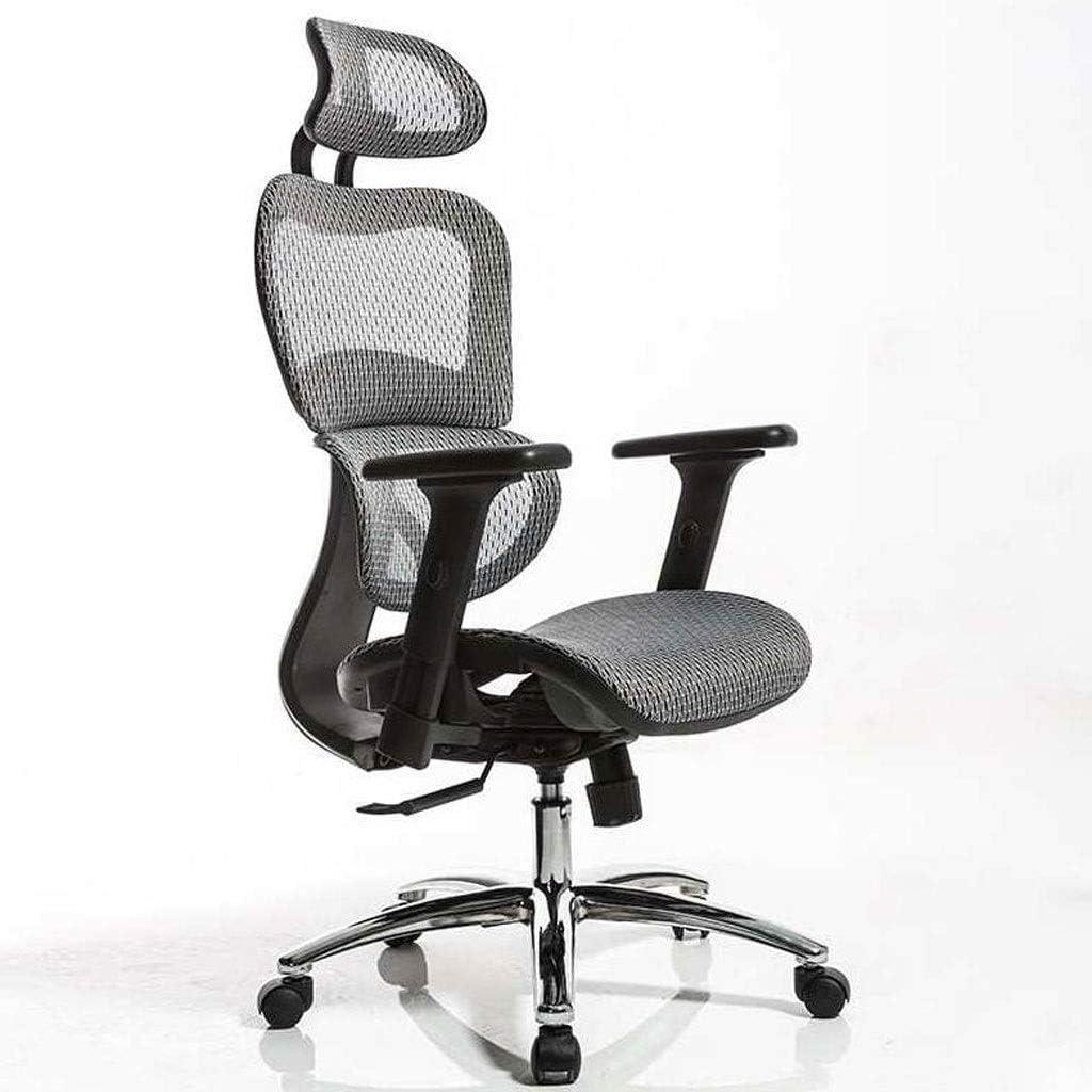 Whh Ergonomic Mesh Office Chair Computer Chairs High Back Adjustable Headrest 3d Folding Arms Swivel Executive Chair More Comfort Amazon De Kuche Haushalt