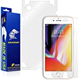 ArmorSuit Apple iPhone 8 Screen Protector + Full Body MilitaryShield Full Skin + Screen Protector Compatible with iPhone 8 - HD Clear Anti-Bubble