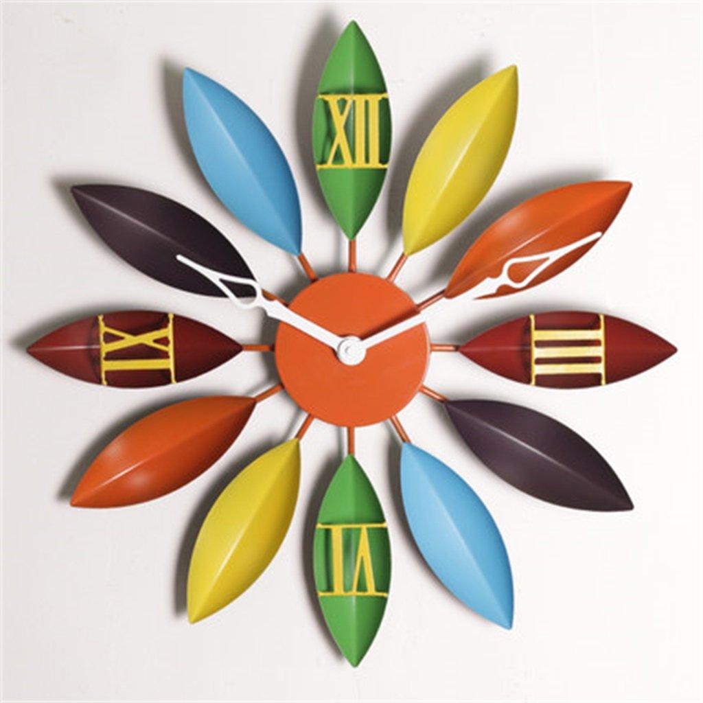 壁時計 パーソナリティ時計時計の壁時計居間近代的なミニクリエイティブアートヴィンテージホームベッドルーム吊りテーブル (色 : #3, サイズ さいず : 55*55*5cm) B07DWZ8D8X 55*55*5cm|#3 #3 55*55*5cm