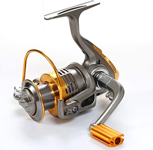 11BB Metal Spinning Carrete de Pesca 5.2:1 Serie 3000-7000 ...