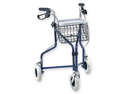 Gima 43140 andador de paseo con 3 ruedas, 7.7 kg peso, 100 ...