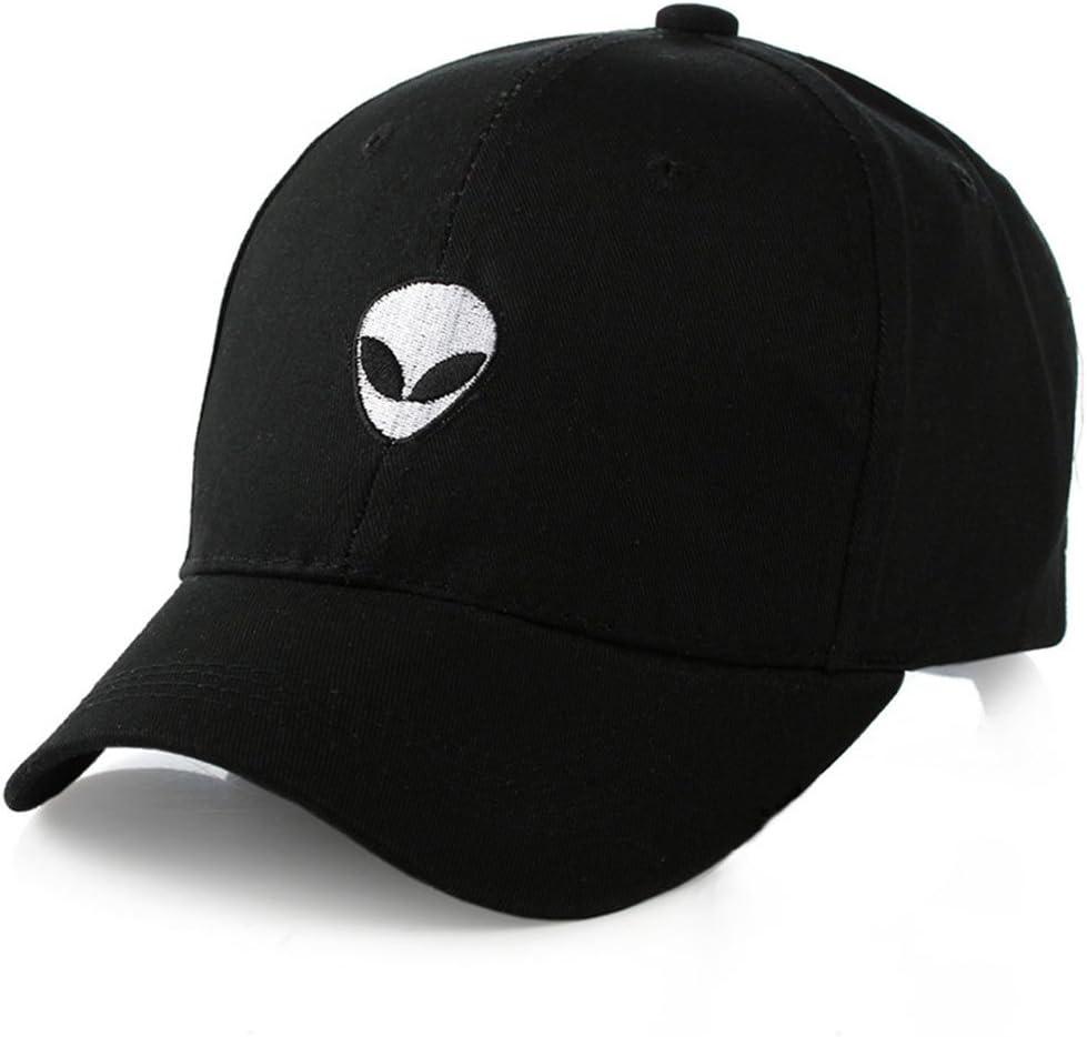 JOYKK Cappello da Baseball per Berretto da Baseball da Uomo con Cappello da Baseball Regolabile in Cotone Damn straniero Nero