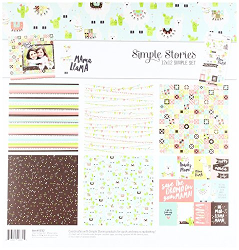 Simple Stories Mama Llama Collection Kit by Simple