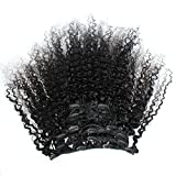 ZigZag Hair Afro Kinky Curly 3B 3C Clip in Hair