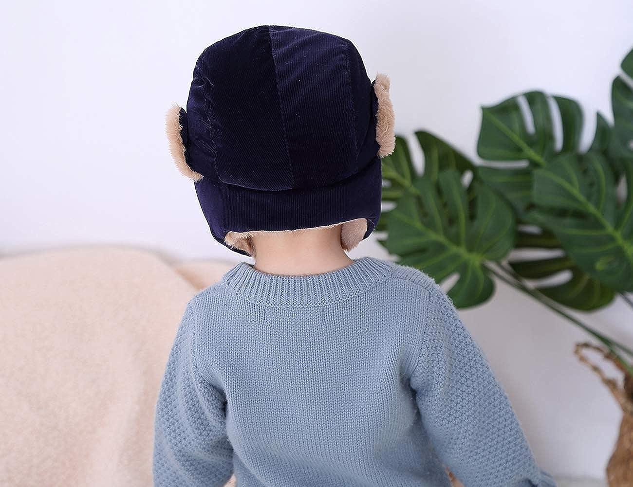 2390362881859 AHAHA Unisexe Chapeau d'hiver Bomber Cap pour Enfants Garçon Cache-Oreilles  Chaud Capuche Confortable Chapeau en Peluche: Amazon.fr: Vêtements et ...