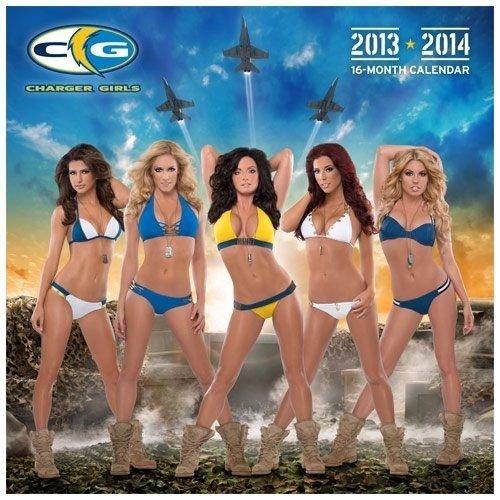 NFL San Diego Chargers Cheerleaders Swimsuit Calendar 201...