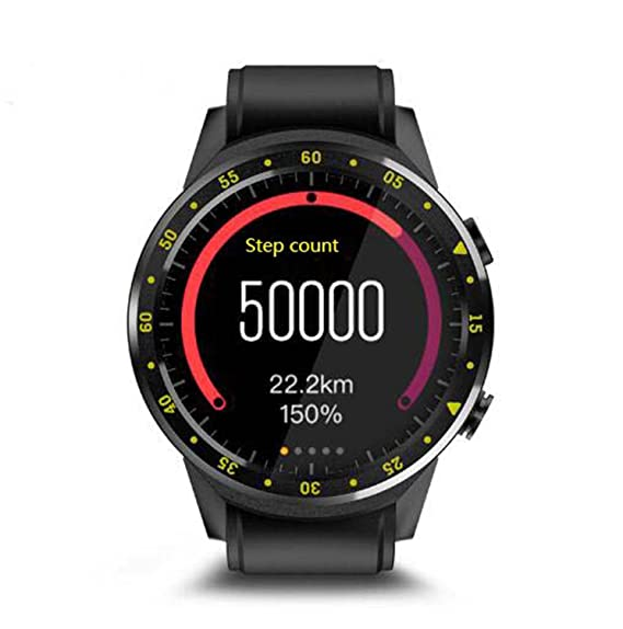 Relojes Inteligentes Reloj Inteligente SN05 Ronda de Reloj Inteligente con Ranura para Tarjeta SIM TF Llamadas