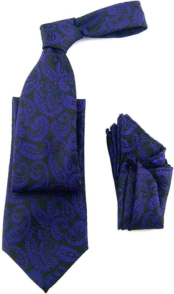 Conjunto de pañuelo de bolsillo pañuelo y corbata tejida de ...