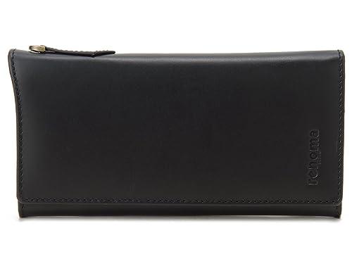 b32417550d1b (レノマ) renoma 長財布 メンズ 9003 001 renoma 牛革 レザーウォレット ブラック 財布 [