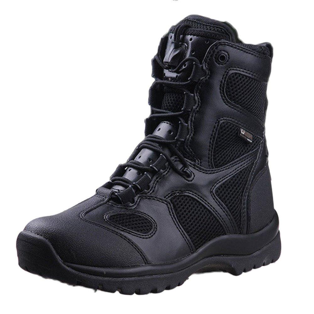 Männer High Rise Wandern Schuhe Explorer Turnschuhe Klettern Turnschuhe Kampfstiefel Outdoor Ultraleicht Atmungsaktive Taktische Stiefel