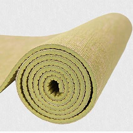 SMEI 183 * 61 Cm * 5 Mm Natural Jute Yoga Mat Almohadilla ...