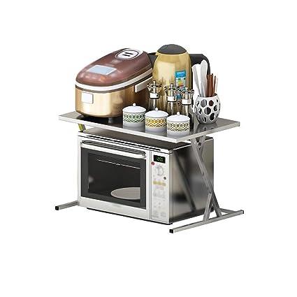Estante de Cocina Simple Horno de microondas Estante Horno ...