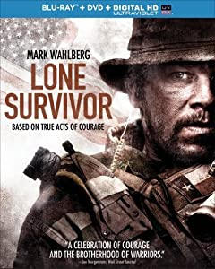 Cover Image for 'Lone Survivor (Blu-ray + DVD + Digital HD with UltraViolet)'