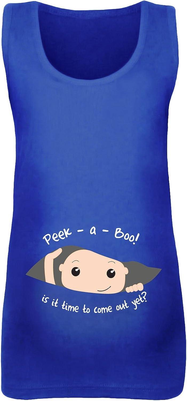 a Boo Peeking Baby Maternity Vest beyondsome Womens Peek