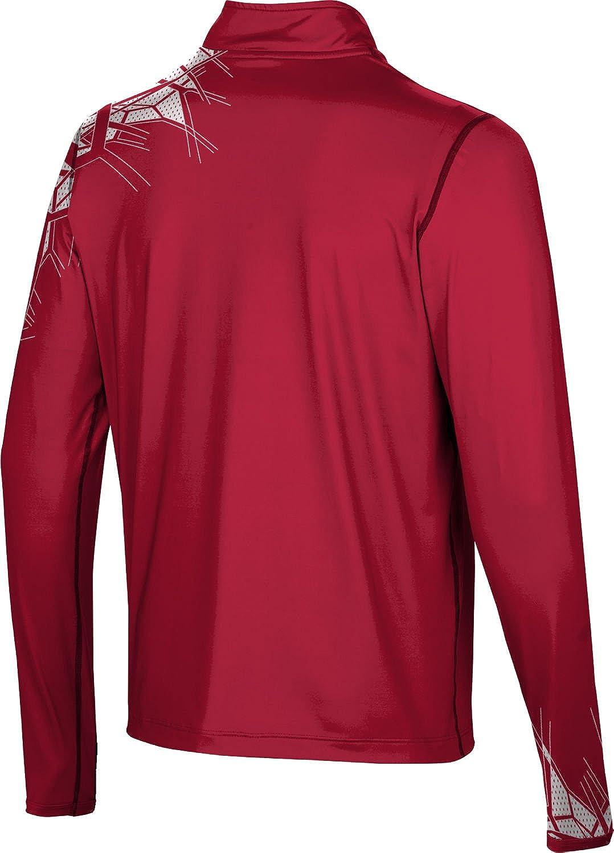 ProSphere Mens Roberts Wesleyan College Enyo Half Zip Long Sleeve at Amazon Mens Clothing store:
