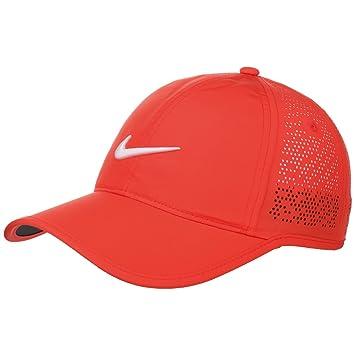 Nike Perf - Gorra de Golf para Mujer, Color Rojo, Talla única: Amazon.es: Zapatos y complementos