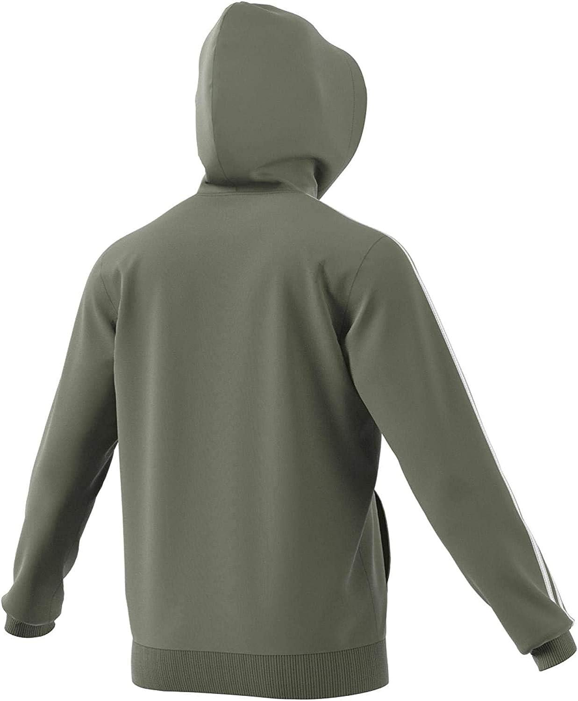 adidas Herren E 3s Fz FL Sweatshirt Legacy Green