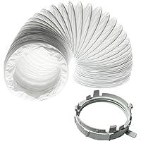 Spares2go Manguera De Ventilación + ventilación anillo adaptador