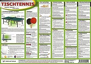 Tischtennis: Regeln, Abläufe und Maße