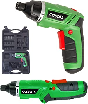 Casals VDSLI36AC - Atornillador plegable con batería de litio de ...