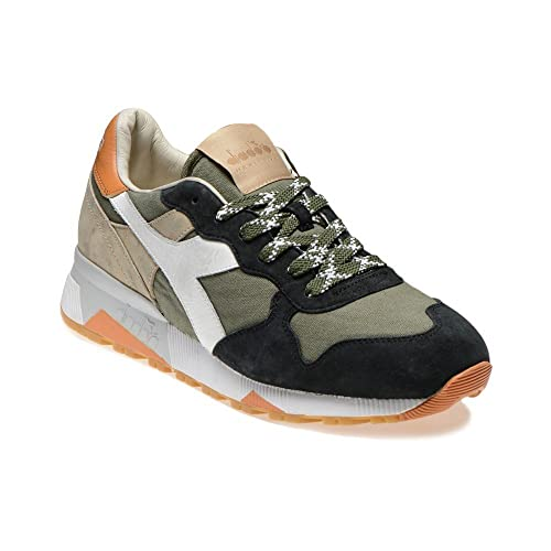 Verde Militare Scarpe Sneakers Basse Diadora Heritage By The