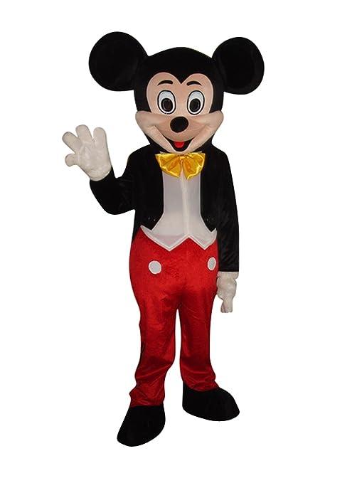 il più votato a buon mercato outlet online qui Topolino e Minnie Mouse Halloween Adulto Mascotte Costume ...