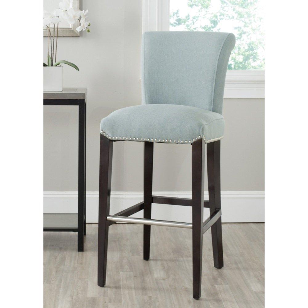 Fine Safavieh Mercer Collection Seth Sky Blue 25 9 Inch Bar Stool Lamtechconsult Wood Chair Design Ideas Lamtechconsultcom