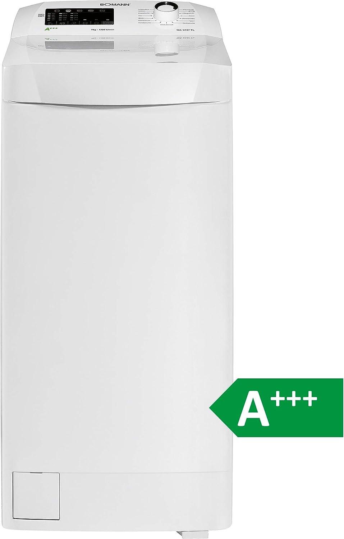 Bomann WA 5727 TL Blanco Waschvollautomat, Toplader, A+++, 7kg ...