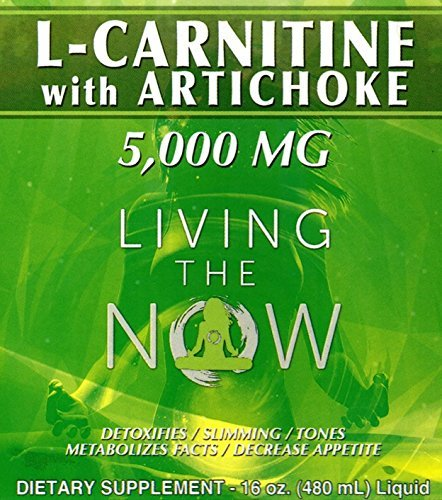 L-Carnitine Liquid 5000mg ♚The Official and Unique with Artichoke to achieve The Best Result ♚ Satisfaction Guaranteed - Perfect Liquid to Mix as a Lemonade or as a Healthy Salad Dressing
