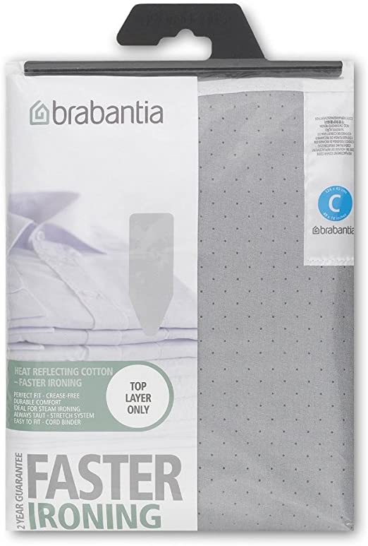 Grey by Brabantia Brabantia 49-by-18-Inch Size-C Ironing-Board Cover