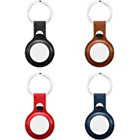 $21 » 4 Pack Anti-Lost Leather Case for AirTag,VAYWET Protective Case Cover with Keychain Ring Designed,Safety Apple Airtag Tracking…