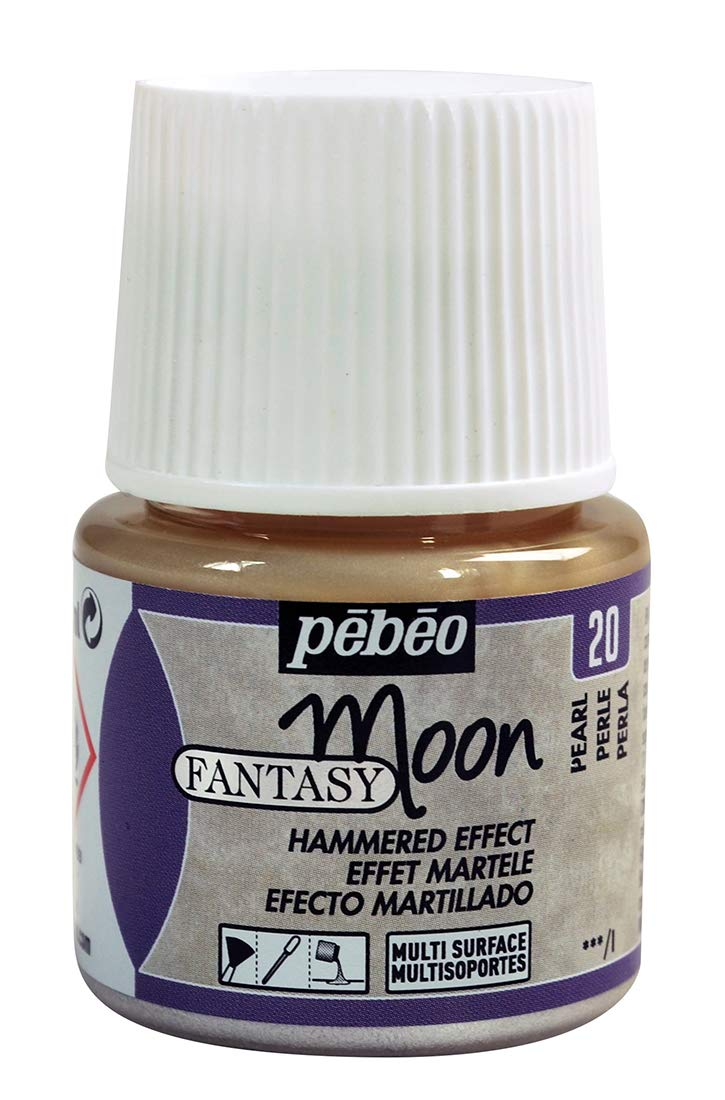 PEBEO 167020 45 ml fantasy Moon, Pearl, white