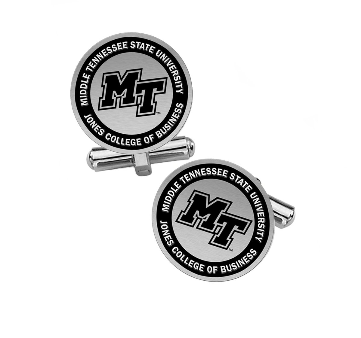 Jones College of Business Cufflinks   Middle Tennessee State University