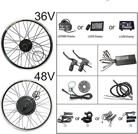 Conversión del Kit eléctrico de Bicicleta Bluetooth 48 V 500 W ...