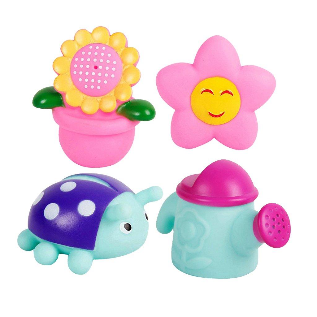 MagiDeal Girasole Sprinkler Sole E Un Modello Landybird Bambino Toddlers Divertente Gioco per Il Bagno, 1 Set