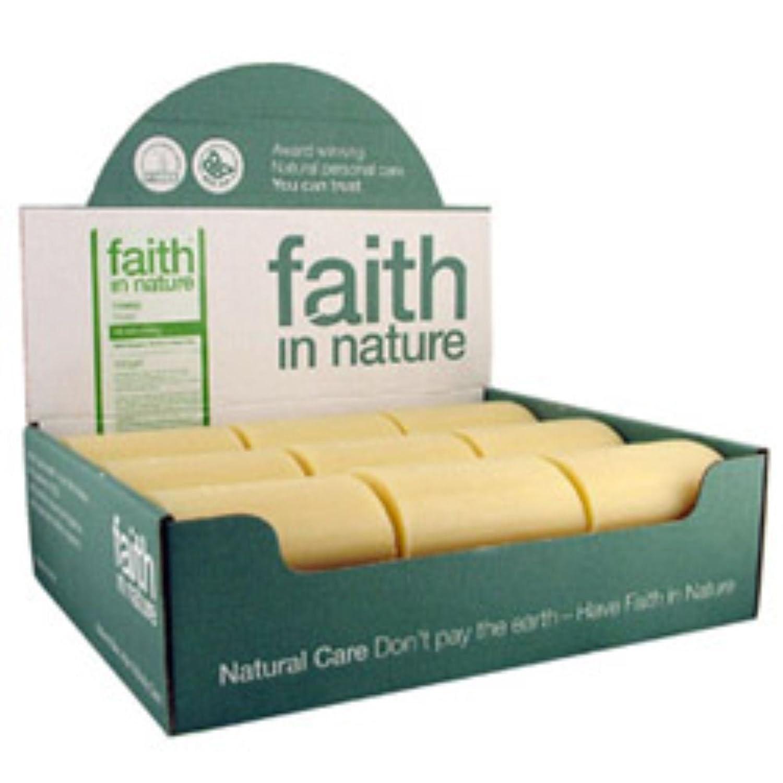 Faith in Nature All-Natural Bar Soap, Hemp (100 gram Bars, Bulk Pack of 18); Pure Hand and Body Soap Handmade w/Organic Hemp and Green Tea, Vegan and Cruelty-Free
