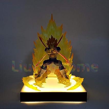 Dragon Ball Z Goku Diy Led Lighting Lamp Anime Dragon Ball Z Super Saiyan Fes Dbz Son Goku God Led Night Lights Luces Navidad Lights & Lighting Led Night Lights
