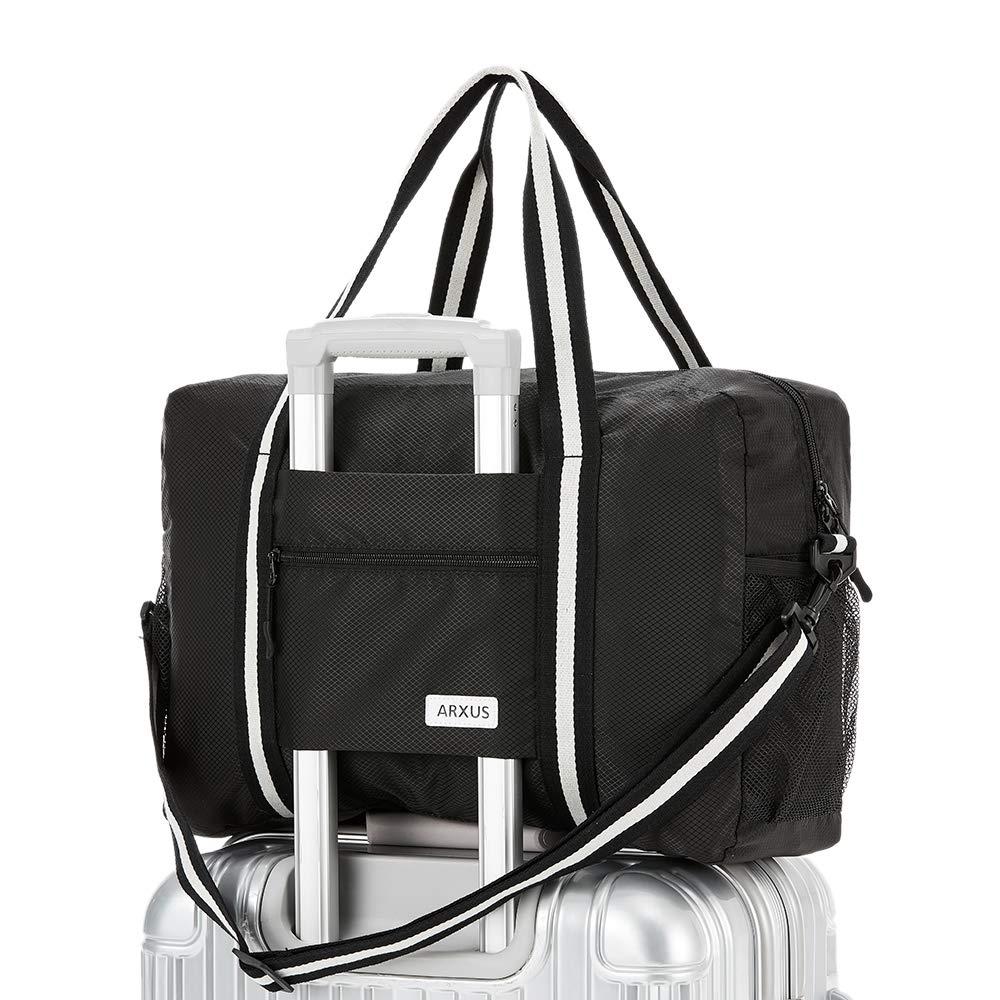 Travel Luggage Duffle Bag Lightweight Portable Handbag Medical Health Large Capacity Waterproof Foldable Storage Tote