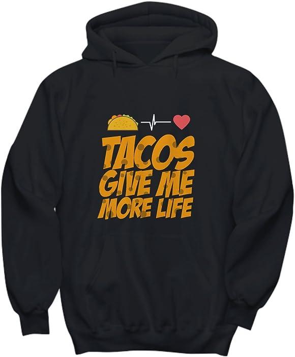 Amazon com: Candid Awe Tacos Give Me More Life - Taco Life